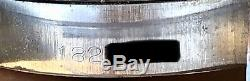 1968 Rolex Oysterdate 6694 Noir Plein Gilt Cadran Original Montre Homme