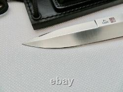 1980 Nos Al Mar Knife Made In Seki Japon Avec Sheath De Oppresson Liber Dagger