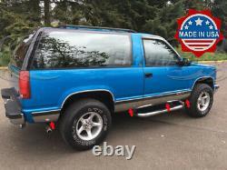 1991-1994 Chevy Blazer 2dr Full Size/k1500/k5 Panneau De Roche Trim 8pc 6 1/4 Nf