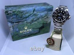 1995-96 Rolex Submariner Réf. 16610 Cadran Noir En Acier Inoxydable & Bezel Ensemble Complet