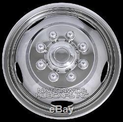 19.03 Dodge Ram 3500 17 Dually Roue En Acier Simulateurs Double Peaux Doublures Couvertures