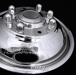2003 2004 Ford F350 16 Simulateurs Double Roue En Acier Inoxydable Rim Covers Liner