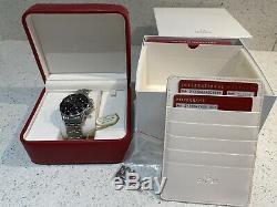 2014 Omega Seamaster Professional Set Chronographe Vgc Boîte Pleine Et Cartes