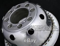 4 Ford 16 Double Roue Simulateurs Hub Capitales Rim Skins Deep Dish Covers Bombés