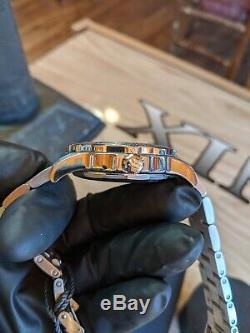 500m Véritable Breitling De Luxe Montre Homme Colt 44 Full Size Bleu 44mm A74387