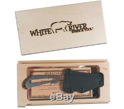 5col M1 Backpacker Couteau Et Gaine Couteau White River Et Outil De Survie S35vn