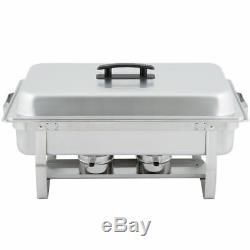 6 Pack Full Size Buffet Traiteur En Acier Inoxydable Chafer Chafing Vaisselle Sets 8 Qt