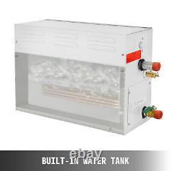 9kw Steam Generator Douche Sauna Bath Maison Spa & Ks-100 Humidificateur De Contrôleur
