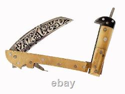 Afghanistan Lohar Knife Khyber Pliant Faill Dagger Klappsense Messer Sens Noa