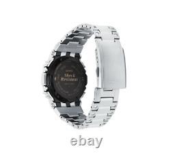 Authentique Casio G-shock Full Metal Silver 35th Anniversary Ltd Watch Gmwb5000d-1