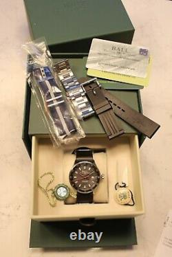 Ball Watch Roadmaster Gmt Edition Limitée De 1000 Automatique 42mm Full Kit
