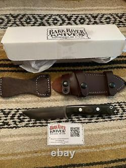 Bark River Couteaux Bravo 1 Lt Cru-wear Ss Blade Hunting Edc Survival Knife/sheath