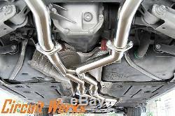 Bmw 335i E90 E92 07 08 09 10 Twin Turbo Coupé & N54 Berline Catback Échappement
