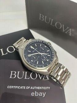 Bulova Lunar Pilot Chronograph Ensemble Complet