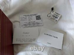 Cartier Tank Solo 2020 Taille L 34x27mm Wsta0028 Boîte Complète Et Papiers Grand État