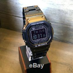 Casio G-shock Full Metal Bluetooth Black Edition Montre Gshock Gmw-b5000gd-1