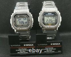Casio G-shock Full Metal Dw-5600e Bracelet Lunette En Acier Inoxydable Mod Gmw-b5000