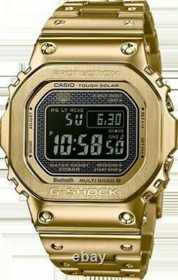 Casio G-shock Full Metal Gold Made In Japan Limited Watch New Rare Gmwb5000gd-9