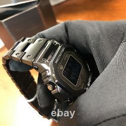 Casio G-shock Full Metal Square Black 5000 Gmwb5000gd-1 Watch Steel Nouveau 35ème