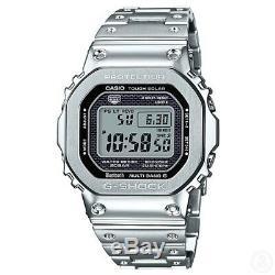 Casio G-shock Gmwb5000d-1 En Acier Inoxydable Bluetooth Full Metal Gmwb5000d-1
