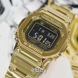 Casio G-shock Or Bluetooth Full Metal Édition Montre Gshock Gmw-b5000gd-9