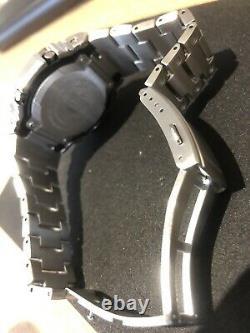 Casio Gw-m5610-1er G Shock Multi Band 6 Tough Solar Full Metal Bracelet & Lunette