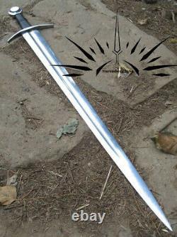 Cheval Médiéval Sword Complet Tang Spring Armure Fonctionnelle Sca Faite À La Main