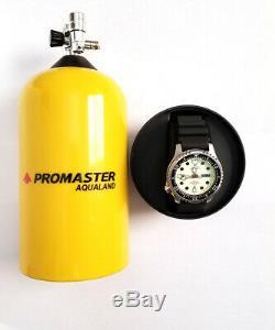 Citoyen Ny0040-09w Complet Lume Promaster Aqualand Automatique Montre De Plongée Nouveau