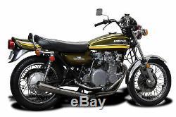 Complète 4-1 Système D'échappement Silencieux En Acier Inoxydable Silencieux Kawasaki Z1 Z900 72-76