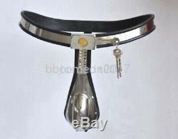 Complète Male Chastity Dispositif De Ceinture Cage Heavy Duty En Acier Inoxydable Branchez L'appareil Bdsm