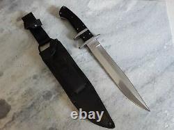Couteau De Combat Classique De L'ours Noir En Acier Froid
