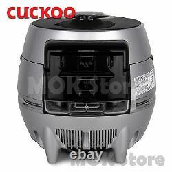 Cuckoo Crp-dhs068fs Cuiseur À Riz 6 Tasses Ih Pressure Premium Full Stainless / 220v