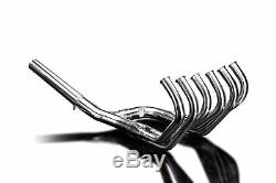Delkevic Pleine 6-1 En Acier Inoxydable Honda Cbx Café Racer Silencieux D'échappement 79-82