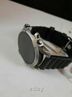 Diesel 2.5 Sur Full Guard Écran Tactile Smartwatch Noir En Acier Inoxydable (dzt2008)