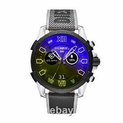 Diesel On Men's Gen 4 Full Guard 2.5 Fréquence Cardiaque Dzt2012 Montre Intelligente À Écran Tactile