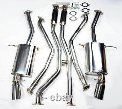 Échappement Intégral En Acier Inoxydable Pour Bmw 335i E90 E92 E93 2007-2010 N54
