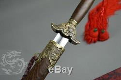 Épée Chinoise De Wushu / Pratique Épée / Phénix Taichi Taiji Épée En Acier Inoxydable
