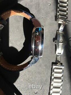 Eterna Tangaroa Calendrier Complet Fabrication Suisse Valjoux 7751 Chronographe Automatique