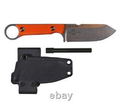 Firecraft Fc3.5-or Pro Knife Kydex Gaine Ferro Rod White River Couteau Et Outil