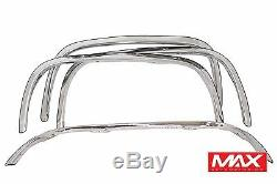 Ftch209 73-87 Chevy C10 / C20 / C30 Agrandir Choisissez Fender Up En Acier Inoxydable Garniture
