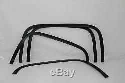 Ftch806 16-18 Chevy Silverado 1500/2500 Mat Fender Noir En Acier Inoxydable Garniture