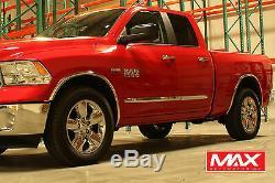 Ftdo203 2009-2018 Dodge Ram 1500 Pickup Poli Garniture Fender En Acier Inoxydable