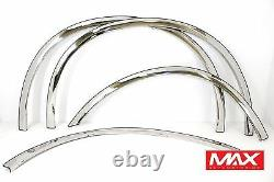 Ftfd215 1999-2007 Ford F250 F350 F450 Sd Super Duty Dually Stainless Fender Trim