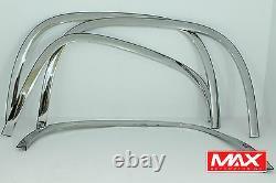 Ftgm201 2007-2013 Gmc Sierra 1500 De Super Poli Garniture Fender En Acier Inoxydable