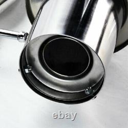 Full Stainless Steel Cat Back Exhaust Drift Spec Pour Nissan 350z 2003-2009