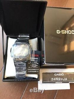G-shock Métal Noir Complet Gmw-b5000gd-1jf New Casio 2018 Ems F / S