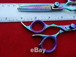 Garantie Gaucher 5.5 Coiffure Cheveux Ciseaux Et Dilution / Peigne (6 Full)