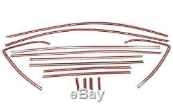 Garniture En Acier Inoxydable Pleine Rebord De Fenêtre 14pcs Pour Mazda Cx5 Cx5 2012-2016