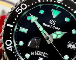 Grand Seiko Sbga229 Spring Drive Mint Withwarranty Ensemble Complet