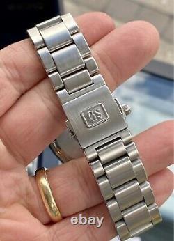Grand Seiko Sbgx259 Quartz Hommes Bracelet En Acier Boîte Papiers Japon Full Set Montre